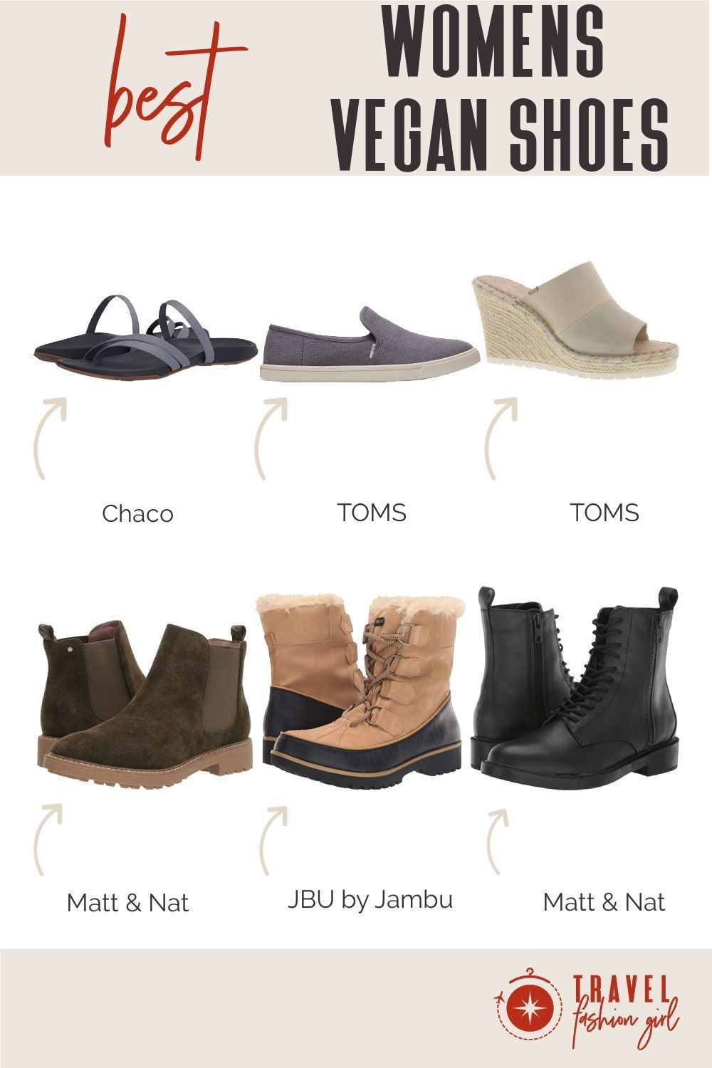 Best Vegan Shoes for Women: Check Out