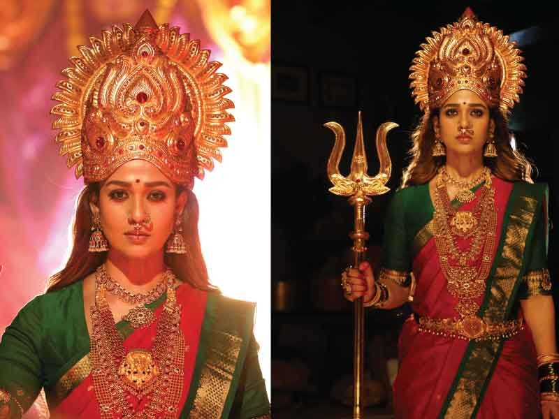 New Stills Of Nayanthara S Upcoming Film Mookuthi Amman Goes Viral Celebrity Pictures Bollywood Actors Upcoming Films