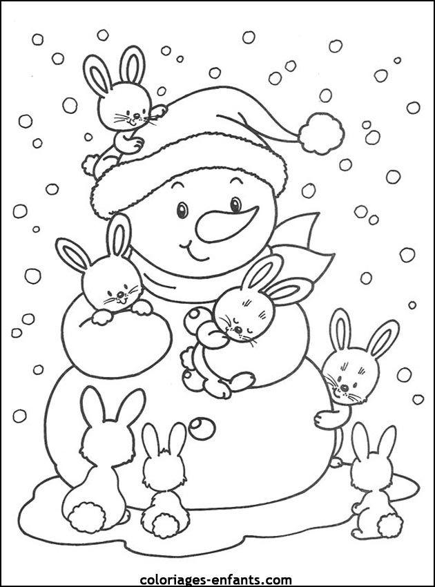 Coloriage Noël à Colorier Dessin à Imprimer Coloriage