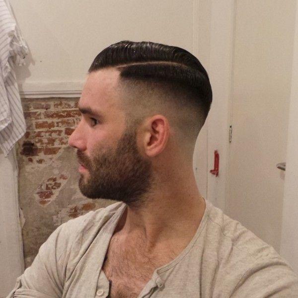 Slick mens hair fetish