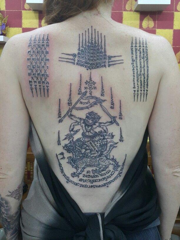 Bangkok Ink Tattoo Traditional Thai Tattoo Bangkok Ink