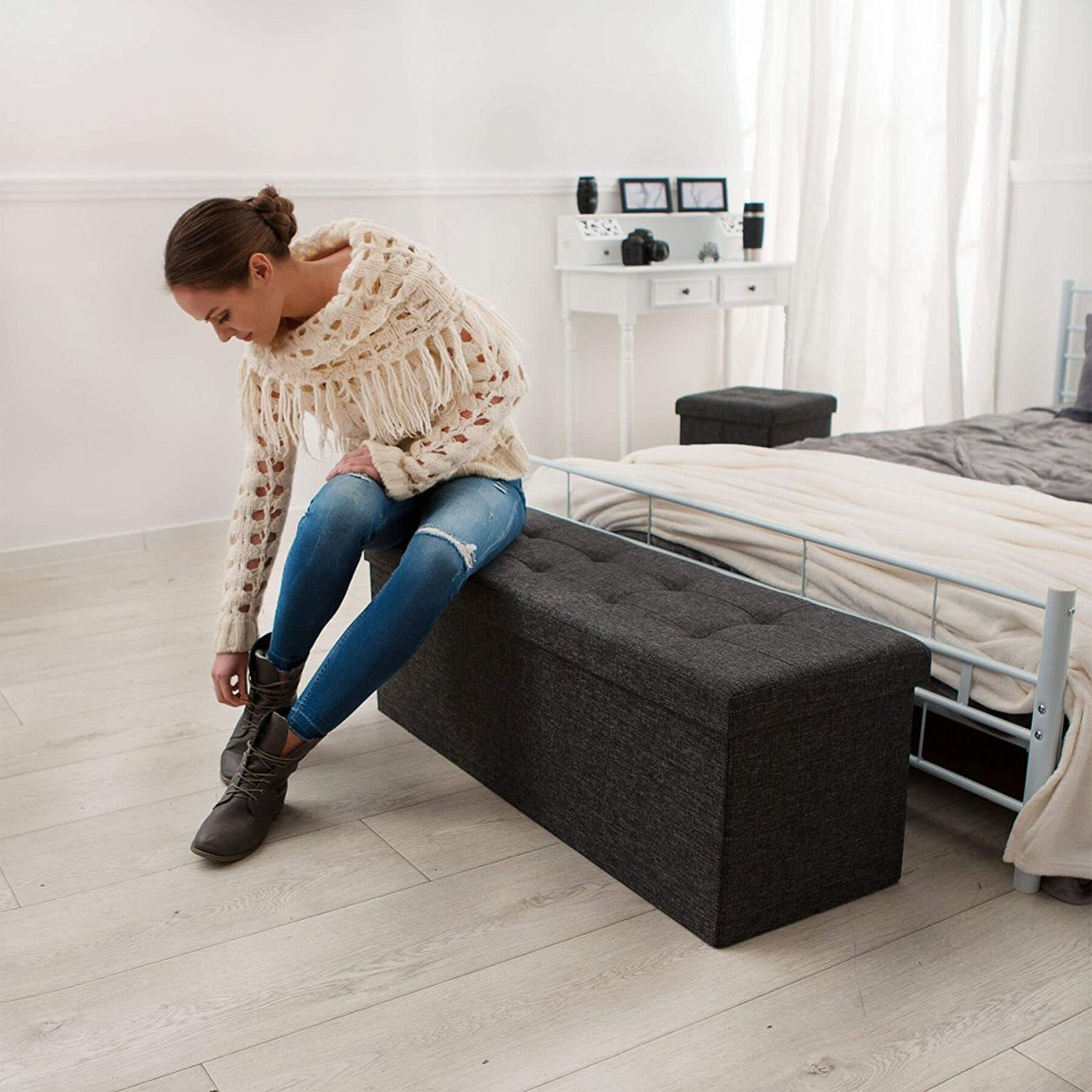 ordnung im schlafzimmer mit diesen helfern klappt s garantiert zuhause pinterest. Black Bedroom Furniture Sets. Home Design Ideas