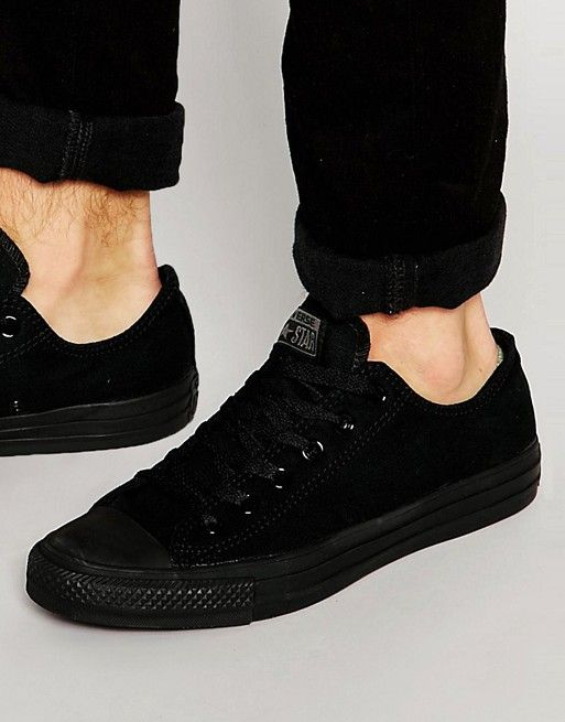 Converse All Star Ox Sneakers In Black M5039C | Hombres, Moda