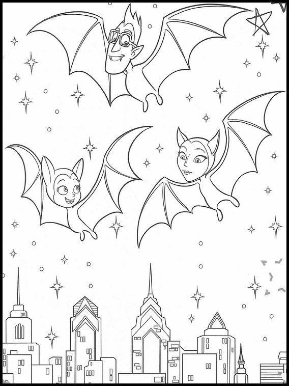 Ausmalbilder Druckbare Vampirina 30 Coloring Books Coloring Pages Online Coloring Pages