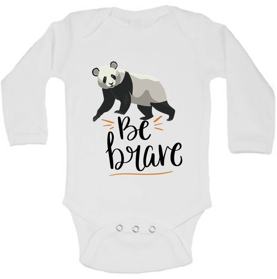 Panda Onesie©, Be Brave Little Bear Cute Baby Clothes, Panda Bear Gifts, Bear Baby Shower, Hipster Baby Clothes, Boho Baby Clothes, Bear is part of Hipster Clothes Boho - custombabyclothespersonalizedbaby ♥ View all of our adorable items here www adelynroseboutique etsy com ♥ Care Instructions Wash with cold water and gentle soap insideout and hang to dry  Please do not use bleach   Best wishes and happy shopping! Rosi Note that the trademark ONESIES® is owned by Gerber Childrenswear, LLC  Terms  ONESIES,   ONESIE,   ONSIE,  and anything similar are all used in accordance with Gerber Childrenswear, LLC's policies  These terms are in reference to and describe genuine Gerber Childrenswear products that may be used by Adelyn Rose Boutique
