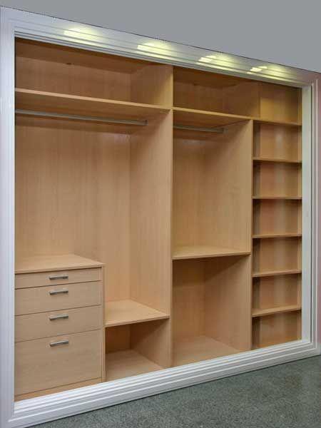 Dise os de armarios empotrados dise o de armario - Organizacion de armarios empotrados ...