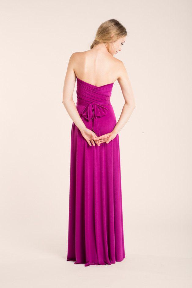 Vestido orquídea, boda orquídea, maxi vestido | Pinterest | Hechos ...