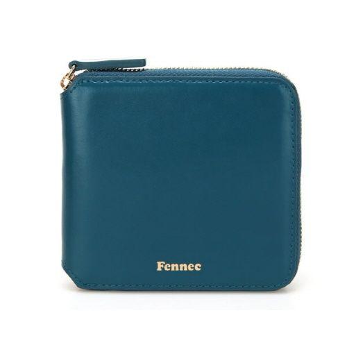 Fennec 페넥 [Fennec] Fennec Zipper Wallet 020 Sea Green