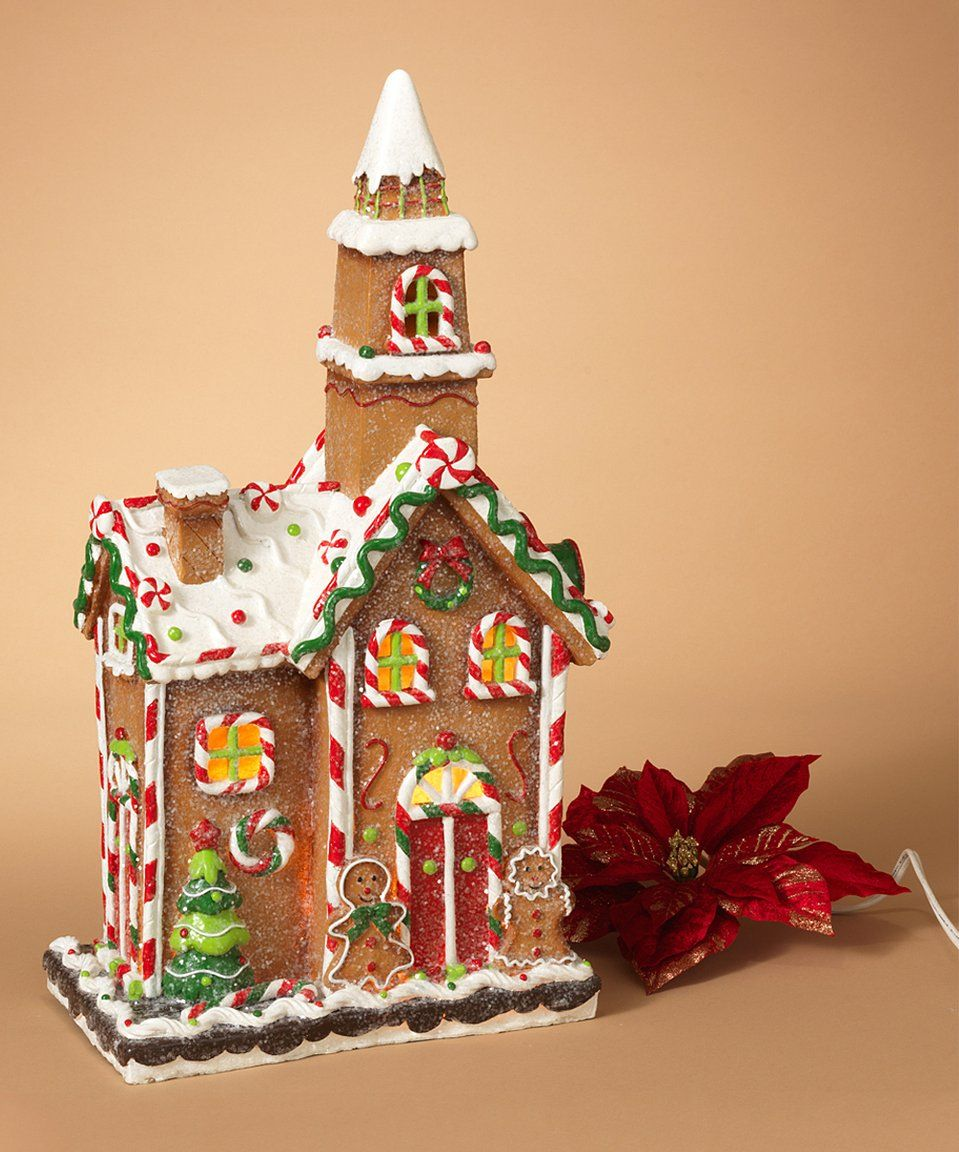 Take a look at this LightUp Gingerbread House Décor today
