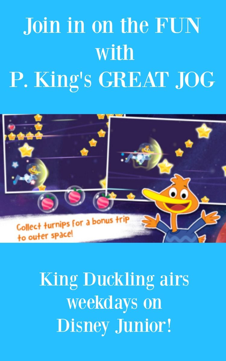 Join In on the Adventure with P. King's GREAT JOG app