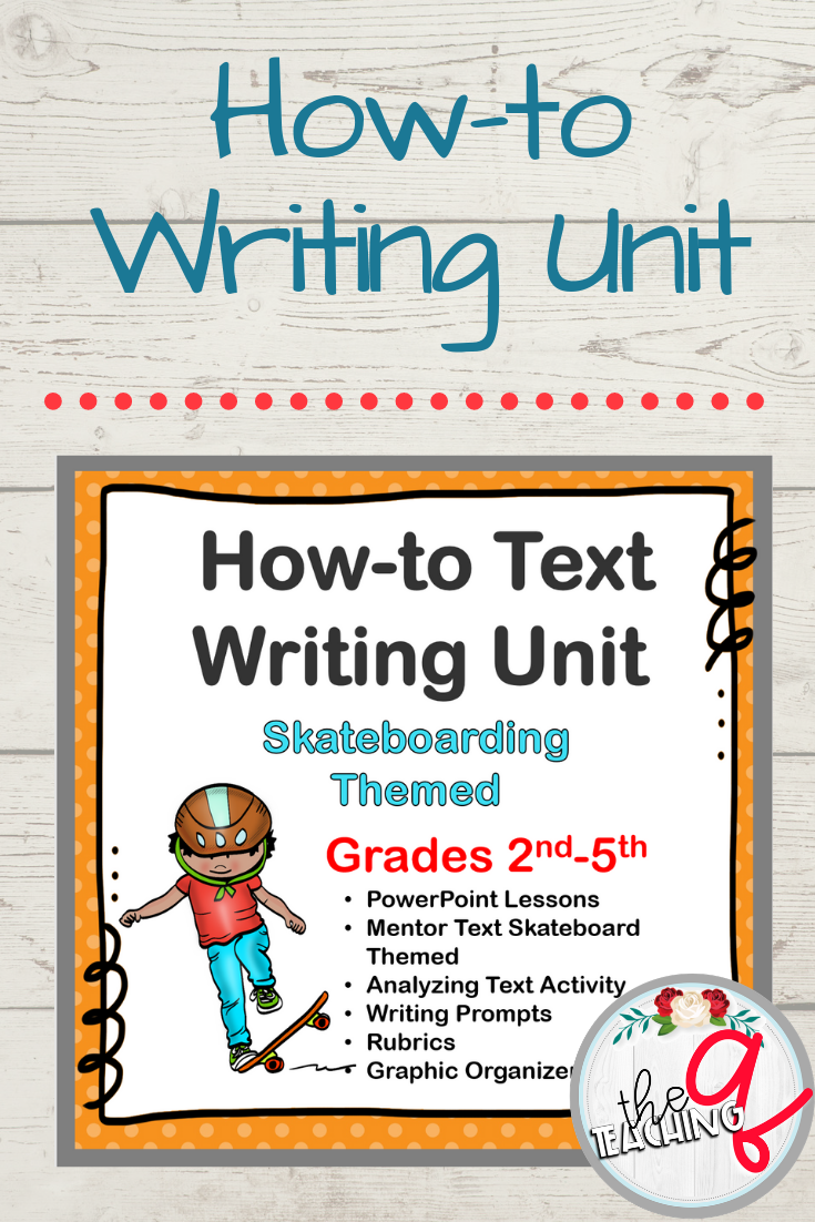 How-To Writing | Second Grade Writing | Fifth grade writing