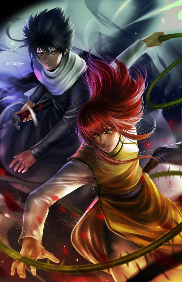 Yu Yu Hakusho FanArt by RogerGoldstain on DeviantArt
