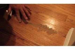 How To Repair Hardwood Floor Gouges 8