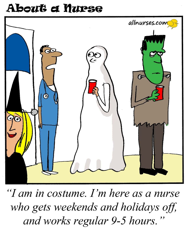 Pin by Erica Hassen on Halloween Nurse jokes, Nurse