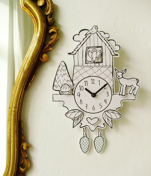 Could I Buy A Simple Clock Face Kit And Then Make A Paper Cuckoo