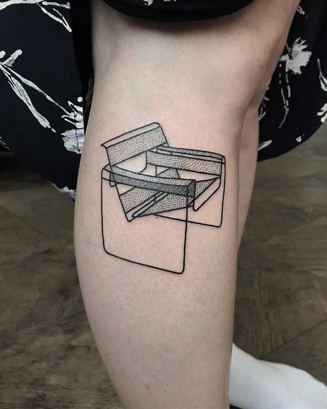 Breuers wassily chair tattoo by skrzyniarz_ in 2020