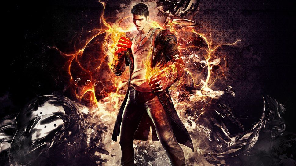 Dmc 5 dante ready to fight devil may cry x pinterest dmc 5 dante ready to fight voltagebd Gallery