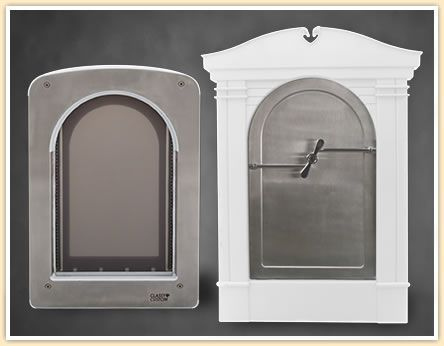 Classy Custom Pet Doors | Classy Custom Pet Doors ~ Stainless Steel Magnum Pet Portal & Classy Custom Pet Doors | Classy Custom Pet Doors ~ Stainless Steel ...