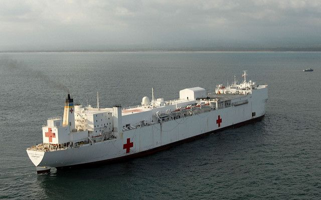 Usns Comfort Hospital Ship Supposedly On The Way Is Set To Deploy Friday Ship Psalm 41 Hospital