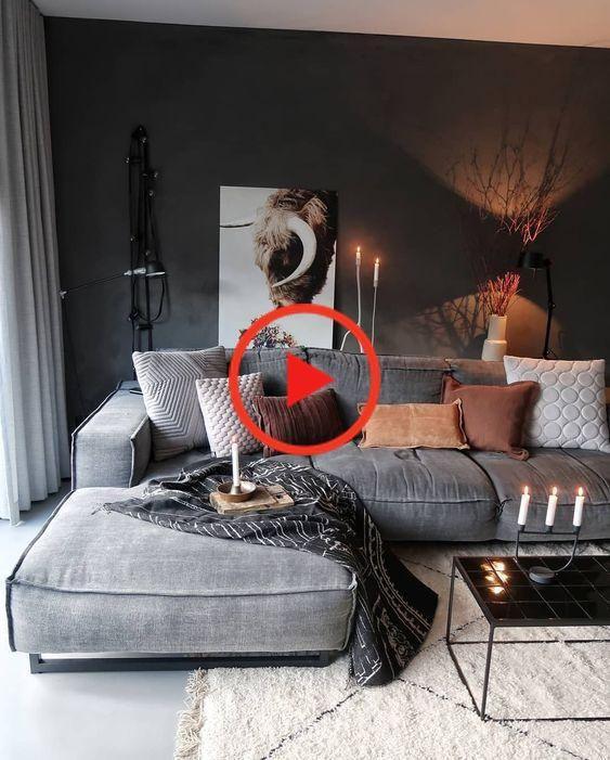 40+ Tolle Dekorationsideen für Wohnzimmer - Mach es selbst - Home decor ideas