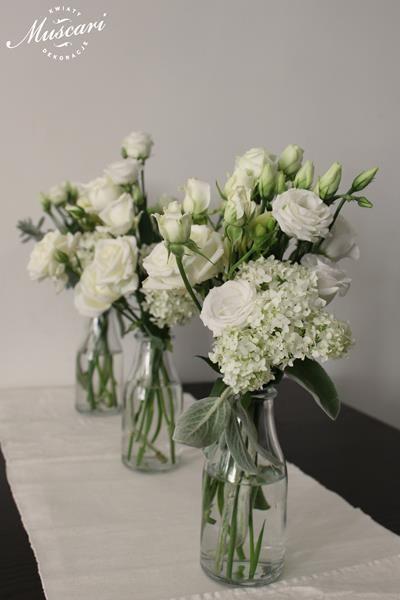 Roze I Frezje Biale I Pachnace Bukiety Muscari Perfect Wedding Wedding Dream Wedding