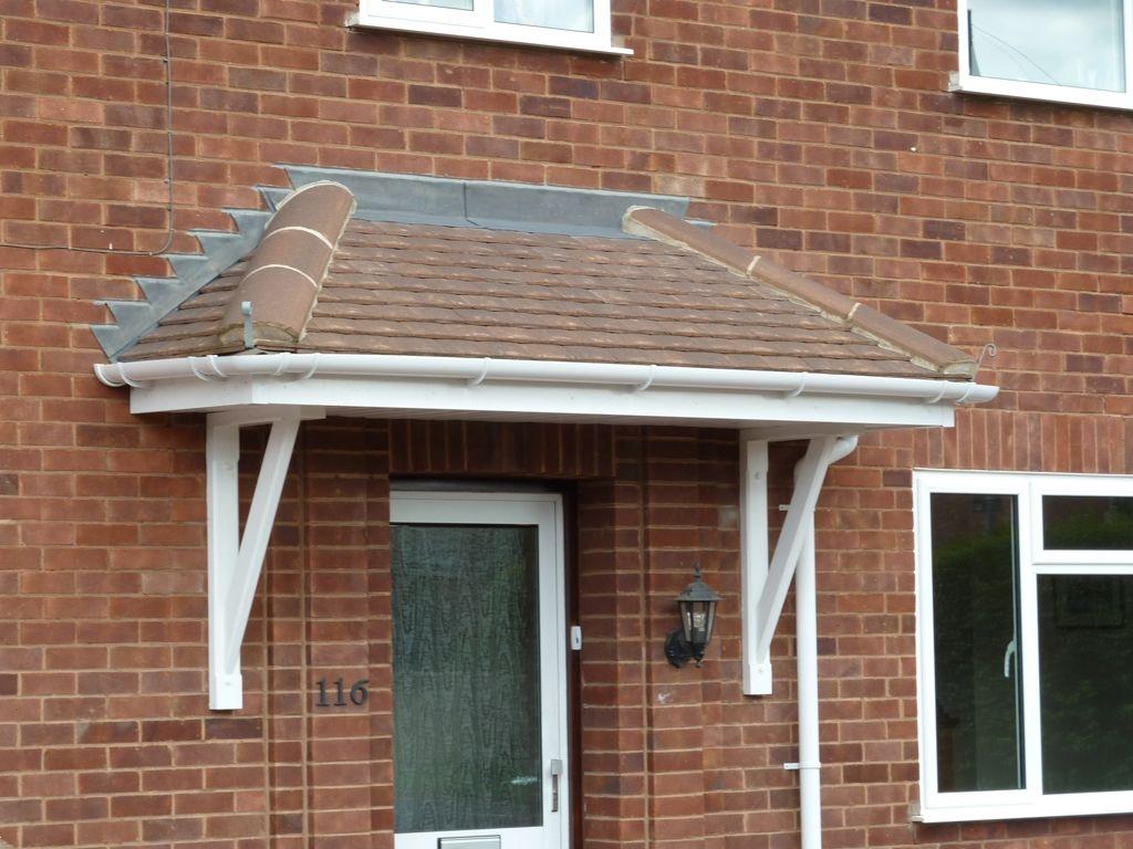 Beautiful Roof Above Front Door