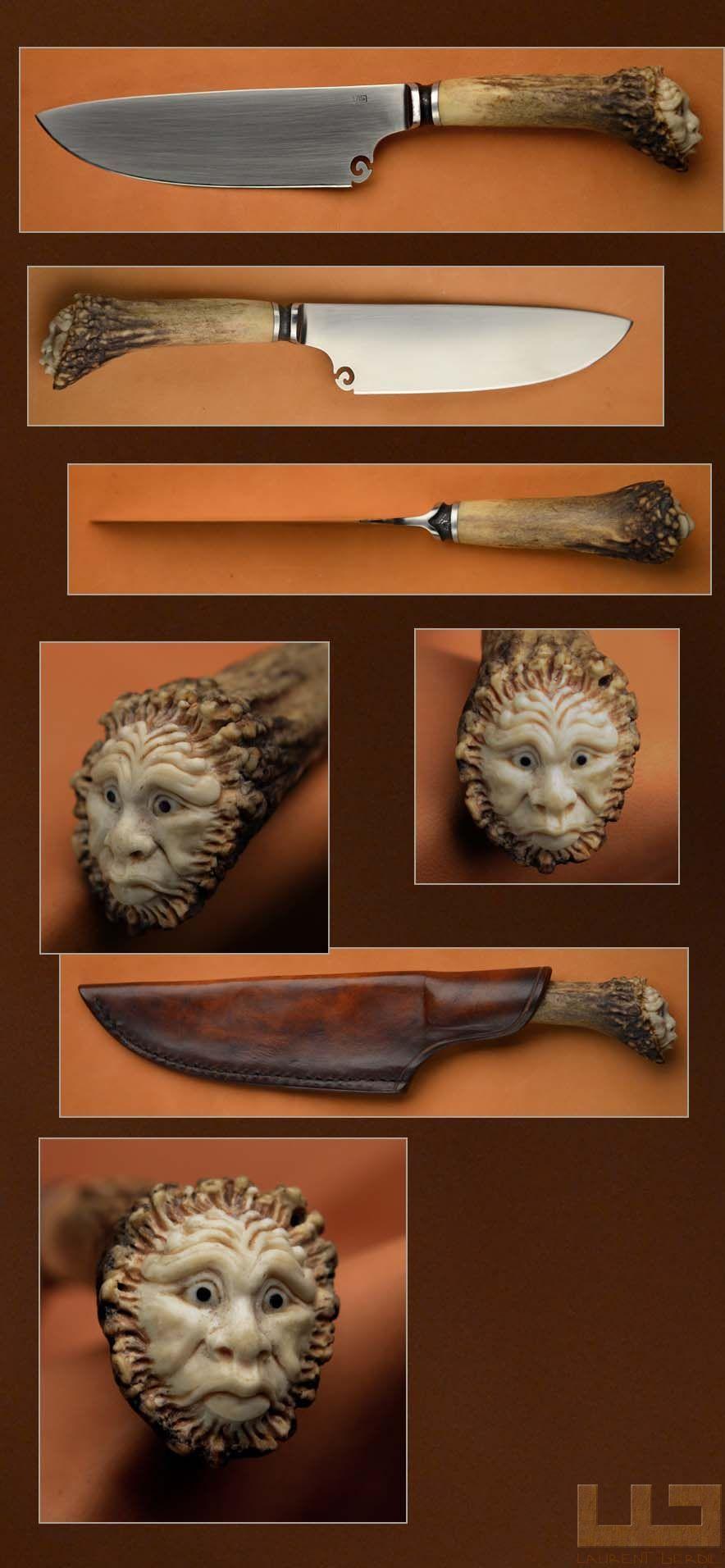 Laurent gerdil sculpture nouveautés knife handles