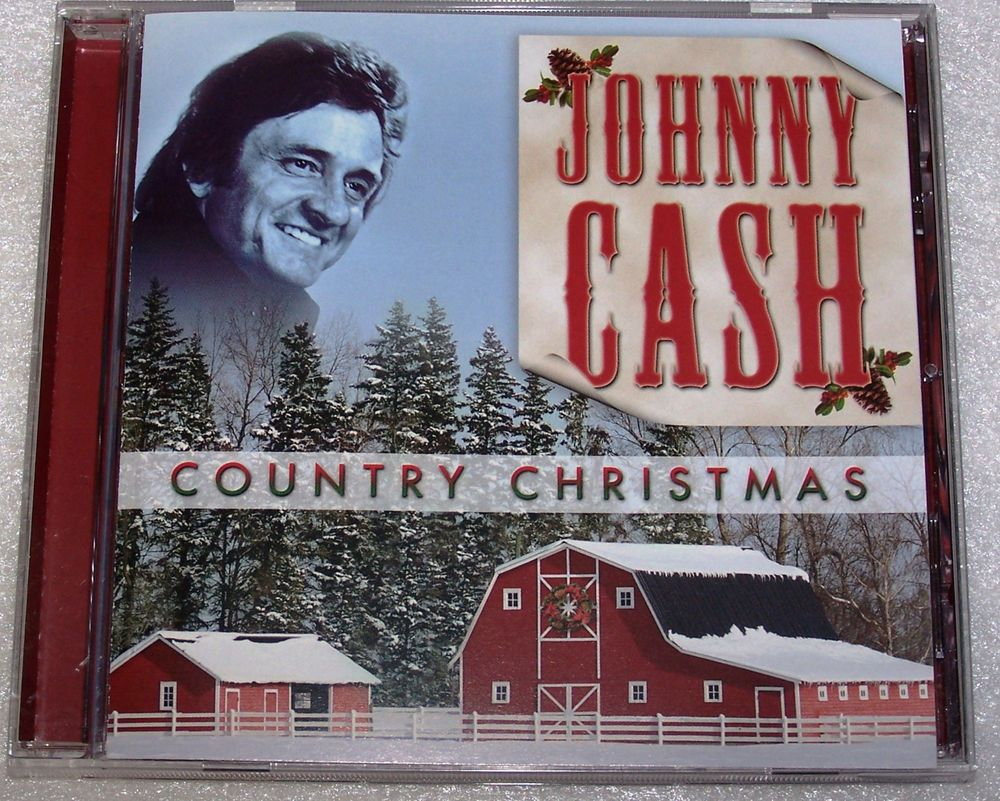 country christmas cd by johnny cash silent night blue christmas i walk the line - Country Christmas Cd