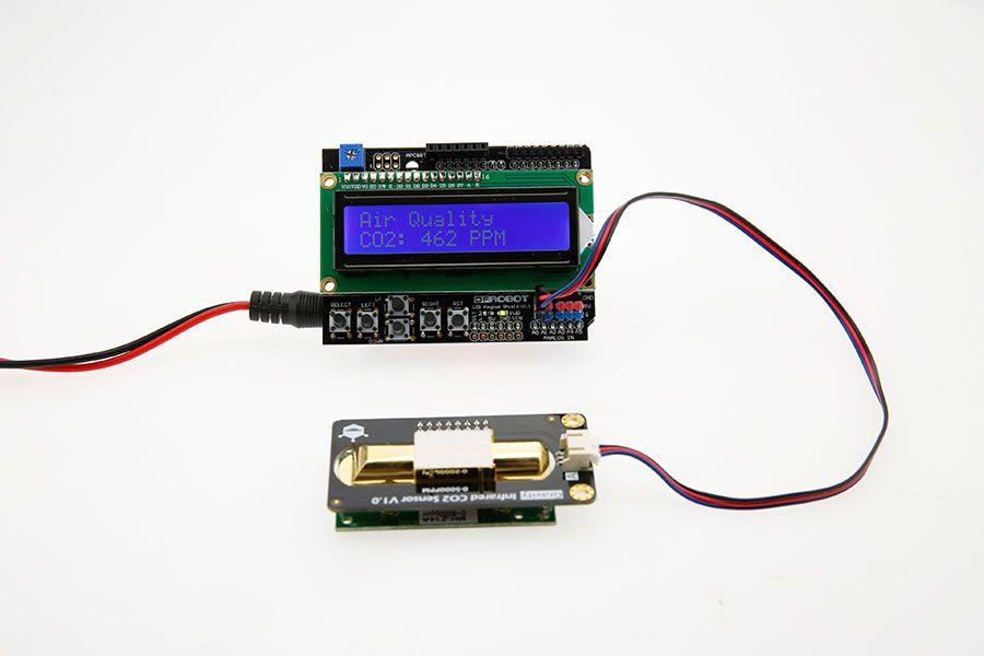 Gravity: Analog Infrared CO2 Sensor For Arduino (0~5000 ppm) arduino