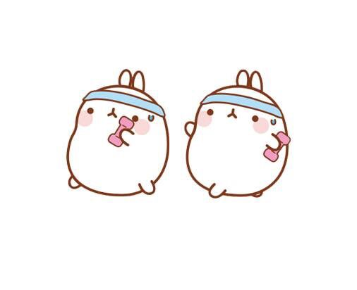 Find An Exercise You Enjoy And Do It Because You Love It Not Out Of Guilt Kawaii Bunny Kawaii Drawings Cute Drawings