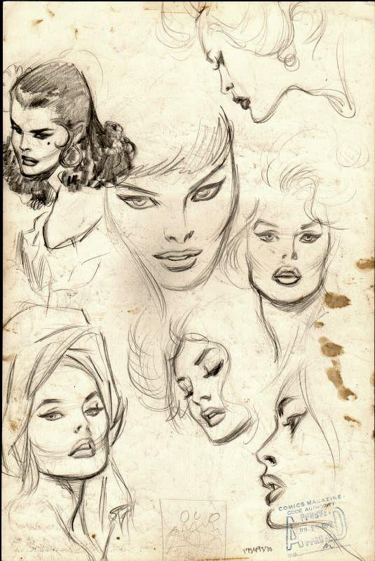 Nobody Draws Beautiful Comic Book Women Like John Buscema Comic Book Drawing Art Sketches Comic Art