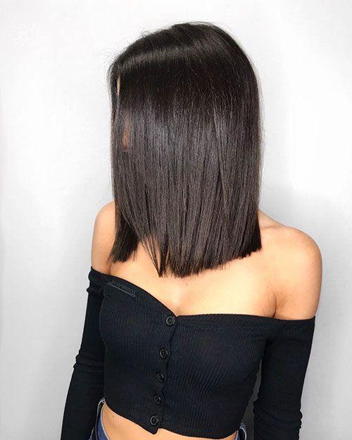 40 Best Blunt Bob Haircut Ideas 2019 Bob Hairstyles For Thick Bob Hairstyles Blunt Bob Haircuts