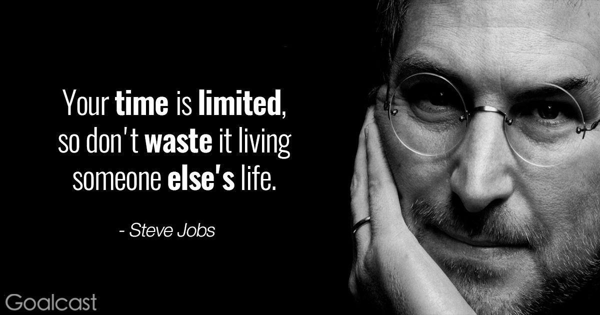 Steve Jobs Quotes Cool The Top 10 Quotes To Inspire You To Be Yourself  Steve Jobs