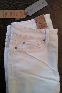 detall jeans blanc #esprit