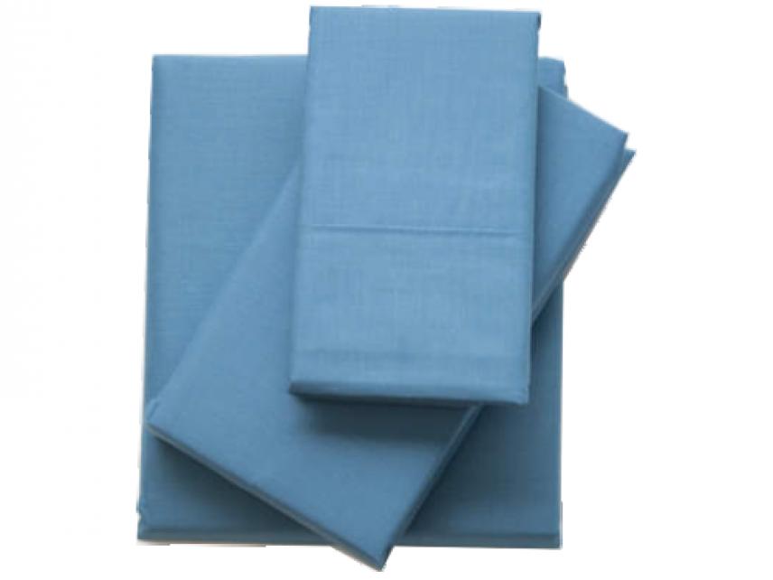 Sábana encimera MB actual. Color azul.
