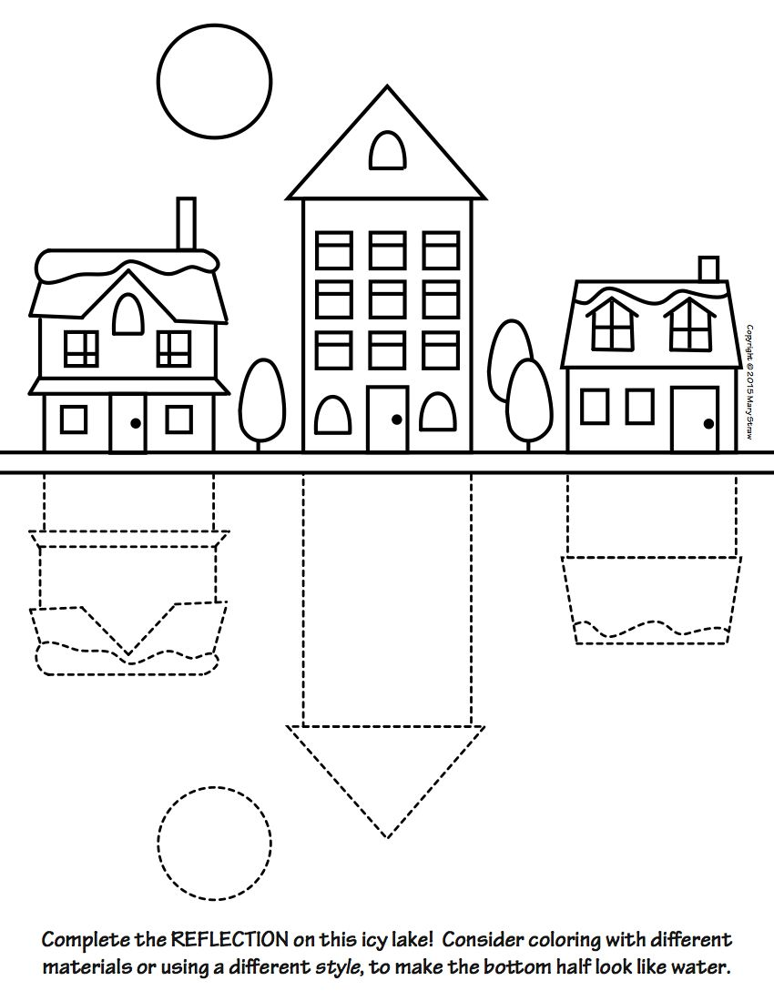 Art Enrichment Everyday FEBRUARY Activity Coloring Pages ...