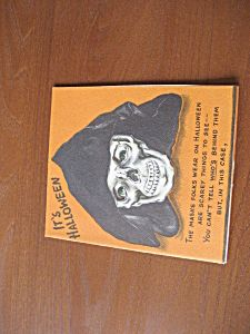 It's Halloween Card from 1951