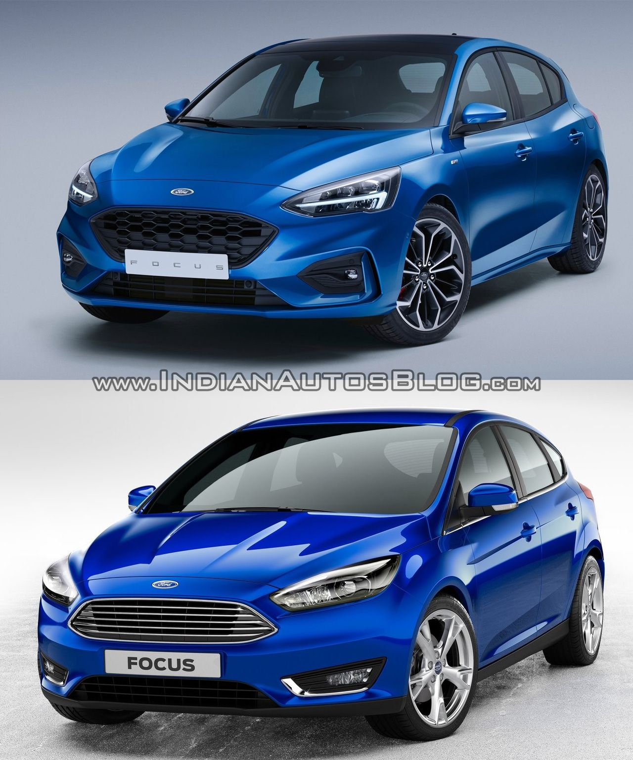 2018 Ford Focus Vs 2014 Ford Focus Old Vs New Car New Ford