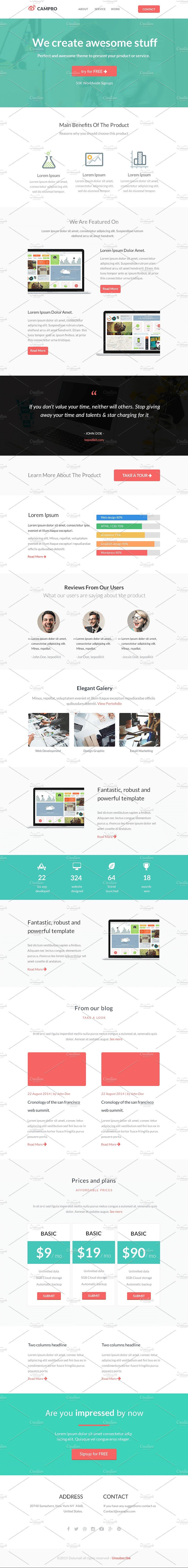 Campro Html Email Template Html Email Templates Email Templates Email Marketing Template Free html email template code