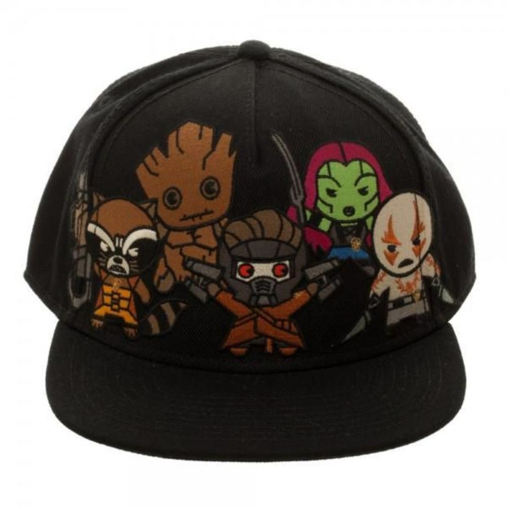 pretty nice ad64e afa18 Marvel Kawaii Guardians of the Galaxy Snapback – Fam   Glam Lifestyle Store