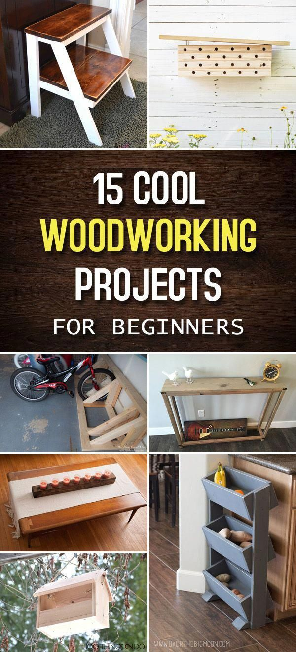 15 Cool Woodworking Projects For Beginners Woodwork