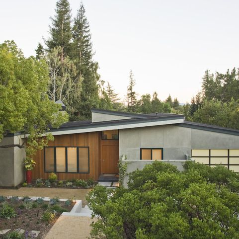 Midcentury Exteriors Design Ideas Pictures Remodel And