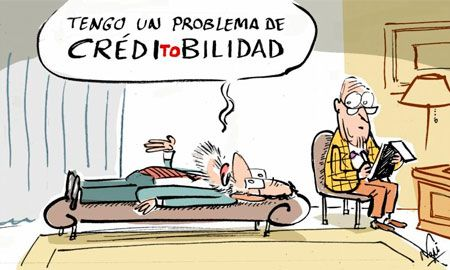 @Marianorajoy tiene un problema de CREDItoBILIDAD #humor #nosrobanlacartera