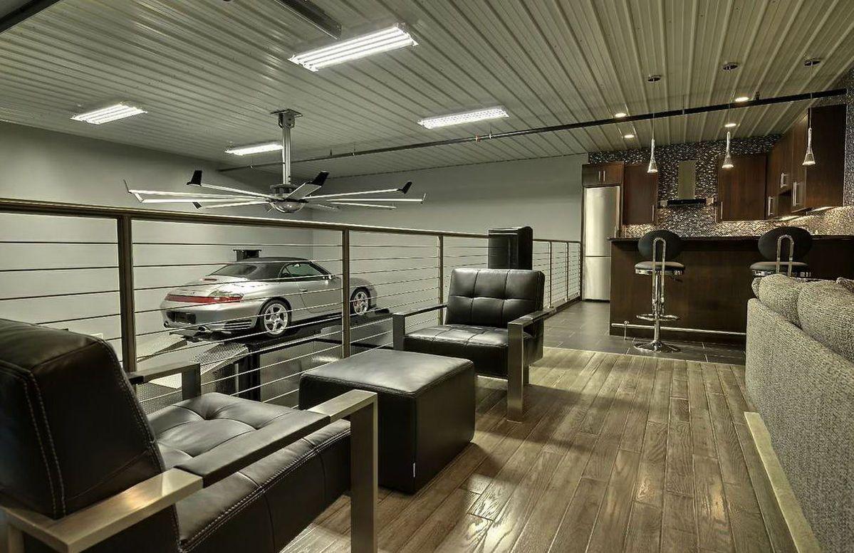 что грейнинг гараж для отдыха фото эта