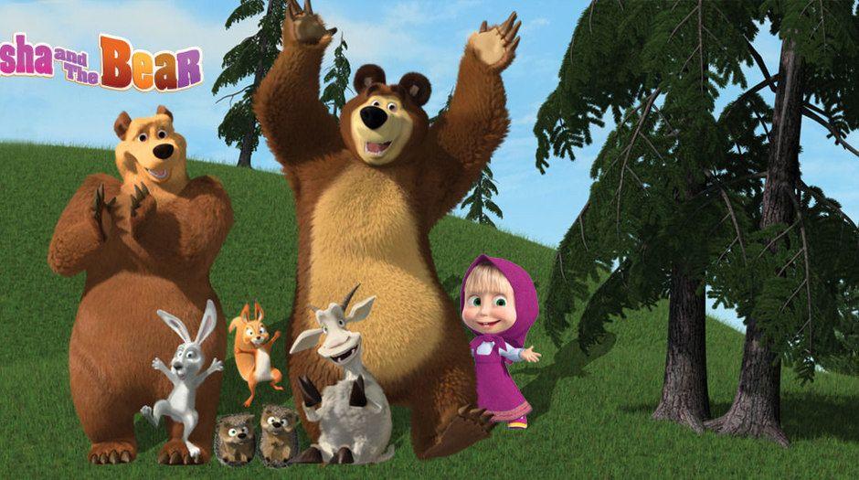 خلفيات ماشا والدب سبيستون 2020 Bear Toy Masha And The Bear Bear