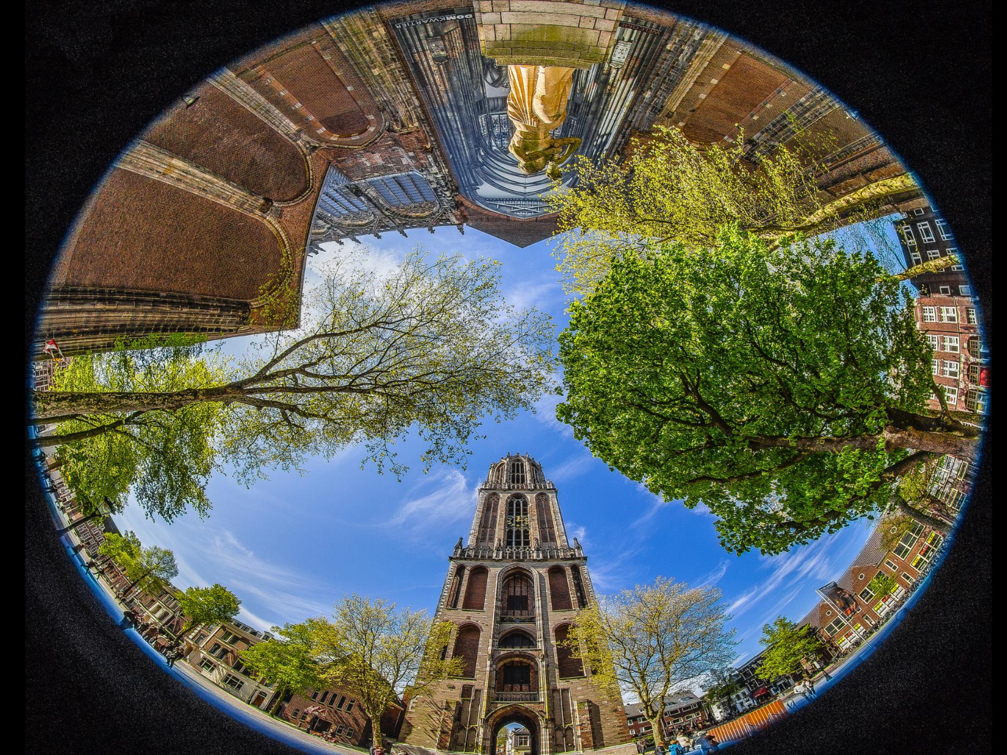 Обои нидерланды, замок, утрехт. Города foto 3