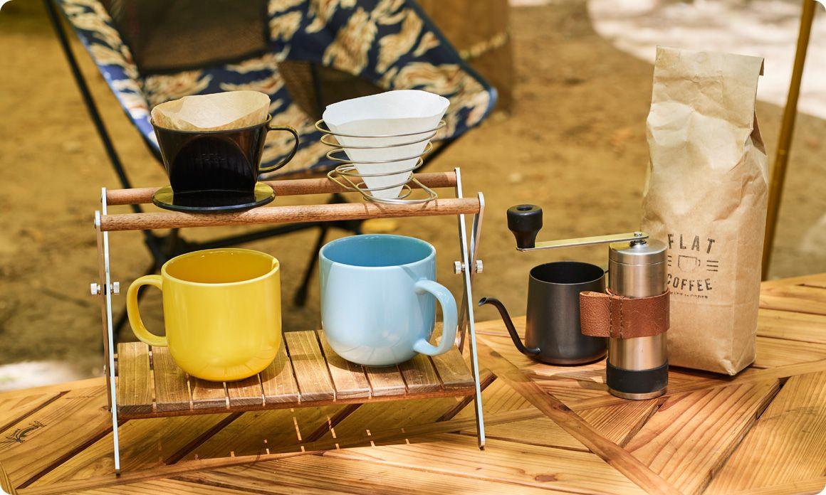 キャンプギアをdiy キャンプ仕様のコーヒードリップスタンド Hondaキャンプ キャンプコーヒー ドリップスタンド キャンプ