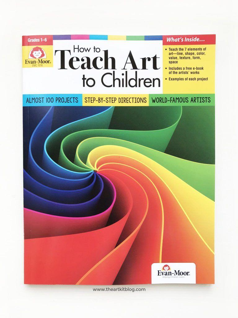 How to Teach Art to Children: Evan-Moor Book Review | Evan