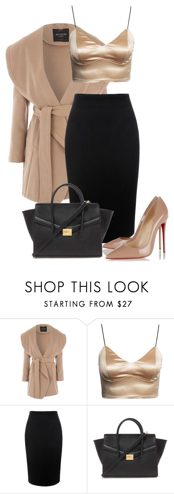 """""""Untitled #244"""" by larissamucilo13 on Polyvore featuring Jane Norman, Alexander McQueen, Forever 21 and Christian Louboutin"""
