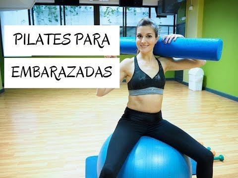 dd1a26391 Ejercicios en PILATES para mujeres embarazadas con Verónica Velásquez. -  YouTube
